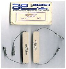 Vintage RC Car Team Associated Replacement Resistors 6774 for 6772 Charger RC10