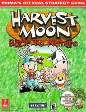 Harvest Moon: Back to Nature: Prima's Official  Strategy Guide, McBride, Debra,