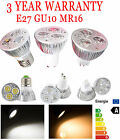 Dimmable 9W GU10/MR16/E27 3x3W LED Bulb Spotlight Warm Cool White Downlight Lamp