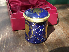 1986 Prince Andrew wedding enamel box Staffordshire Enamels No 53 out of 250