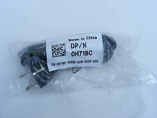 Dell H718C 2 Pin Prong European to Cloverleaf Power Cord