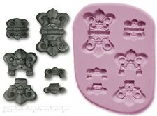 STEAM PUNK Hinge HINGES Handbags Craft Sugarcraft Sculpey Silicone Mold Mould