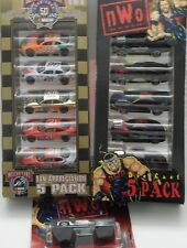 Racing Champions 1999 Street Wheels nWo 5 car pack, '69 GTO & 1998 NASCAR 5 pack