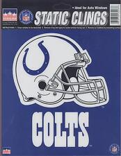12 Indianapolis Colts 6 inch Static Cling Stickers