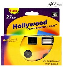 40x Disposable Camera 35mm Film Flash Hollywood HD One Time Single Use Exp:2018