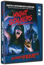 Halloween Prop - ATMOSFEARFX Night Stalkers DVD TV or window projection NEW