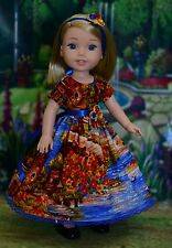 """Riverside"" Dress Outfit for American Girl Wellie Wishers Hearts for Hearts"