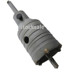 50mm Core Drill Plumbers Builders Hole Cutter Heavy Duty Construction Tool New