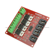Four Channel 4 Route MOSFET Button IRF540 V2.0+ MOSFET Switch Module Arduino