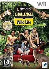 NAT.GEO.CHALLENGE!WILD LIF WII  GAME NEW