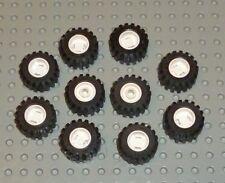 LEGO-DISCO D. 11 mm x 12 mm, foro Rotondo, Bianco x 10 (6014ac01) wl242