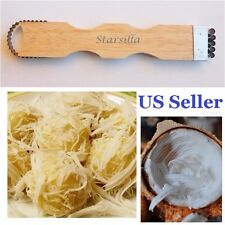 Coconut Hand Grater Shredder Scraper Kitchen Tool Gadget Cheese Chocolate NEW