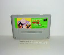 JEU SUPER NINTENDO FAMICOM SANS BOITE DRAGON BALL Z  3