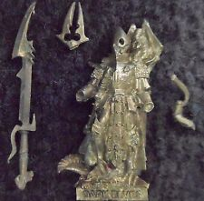 2007 Dark Elf Dreadlord with Great Weapon Citadel Command Unit Drow Warhammer GW