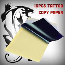 10 SHEETS TATTOO TRANSFER CARBON / COPY PAPER UK SELLER