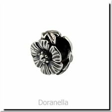 Authentic Trollbeads Sterling Silver 12304 Rose :0 27% OFF