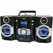 NAXA Electronics Portable MP3/CD Player with PLL FM Radio, New, Free Shipping