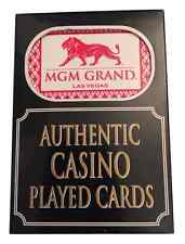 5 Paquets / Jeux de MGM Playing Casino Poker Cartes - Las Vegas Exclusivité