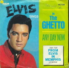 ELVIS PRESLEY 45 TOURS GERMANY IN THE GHETTO (2)
