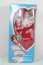 Barbie Heart Family Kiss & Cuddle Mum and baby boy doll #3140 1986 NRFB