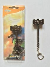 World of Warcraft Weapon Keychain Keyring Figure doom hammer ship from U.S.