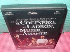 EL COCINERO EL LADRON SU MUJER Y SU AMANTE - GREENAWAY