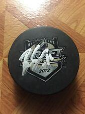 Brady Skjei Autographed 2012 NHL Draft Puck New York Rangers USA