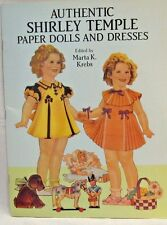 VINTAGE UNCUT! 1991 SHIRLEY TEMPLE SAALFIELD PUBLISHING PAPER DOLL SET