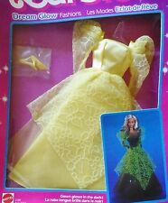 1985 BARBIE DREAM GLOW Fashion Abito da sera RAR magico splendore VINTAGE #2189 NRFB
