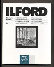 Carta fotografica bianco e nero Ilford 24x30 Multigrade Perla 50f  black  white