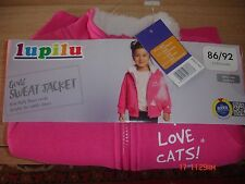 LUPILU GIRLS SWEAT JACKET SIZE 86/92,12-24 months