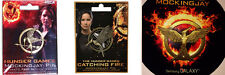 The Hunger Games Mockingjay Pin Set - SDCC & NECA 2012, 2013, 2014 - All 3