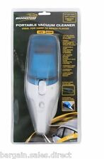 BROOKSTONE 12V HANDHELD PORTABLE VAN CAR VALET VACUUM CLEANER