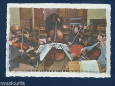 ak~ handmade greetings / birthday card DOUBLE BASS & STRING PLAYERS