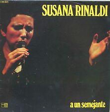 """Vinyle 33T Susana Rinaldi """"A un semejante"""""""