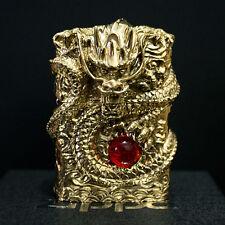 Zippo Lighters Gold Dragon sculpture New in Box