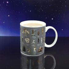 Official Star Wars Multi Character Logo Battleships Glossary Coffee Mug - Boxed