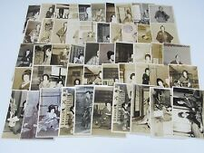 50 Original Photo card set Japan kabuki actor kimono samurai old No.12