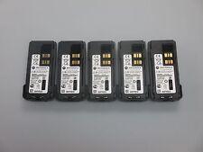 Motorola PMNN4409 Lithium Battery xpr7550 - xpr7350 x FIVE PCS