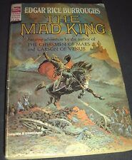 The Mad King By Edgar Rice Burroughs ACE SF F-270 - Frank Frazetta Cover