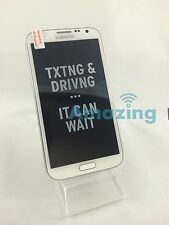Brand New Samsung Galaxy Note 2 II Unlocked 4G I317 GSM White LCD Shadow.