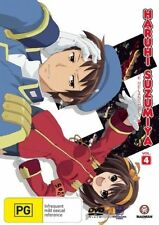 The Melancholy of Haruhi Suzumiya V4 DVD NEW