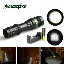 Zoomable 5000LM Ultrafire 3 Modes CREE XML T6 LED Flashlight 18650 & Charger FY