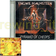 "YNGWIE MALMSTEEN ""PYRAMID OF CHEOPS"" RARE DOUBLE CD LIVE 1994"