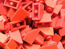 LEGO 3040 @@ SLOPE 45 2 x 1 (x20) @@ RED @@ ROUGE @@ 6280 4555 7419 4757 6766