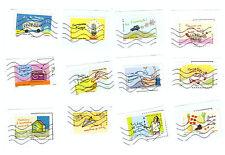 Serie complete timbres obliteres Ensemble, agissons pour preserver le climat