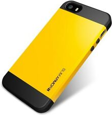 iPhone 5S case , SGP Back Cover for iPhone 5S, (Yellow)