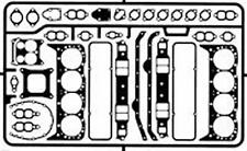 DETAIL MASTER 2430 1/24-1/25 SMALL BLOCK CHEVY GASKETS (PHOTO ETCH)