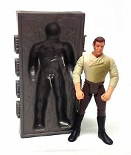 "STAR WARS Original Trilogy Thawed Out Han Solo w/Carbonite Block 3.75"" figure"