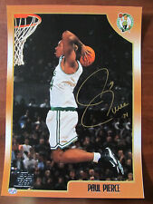 FORMER BOSTON CELTICS PAUL PIERCE 34 AUTOGRAPHED MEMORABILIA - COA   2005